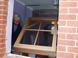 Installing a Timber Window